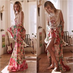 🌺 Spell Designs Delilah Patchwork Kimono 🌺 NWT